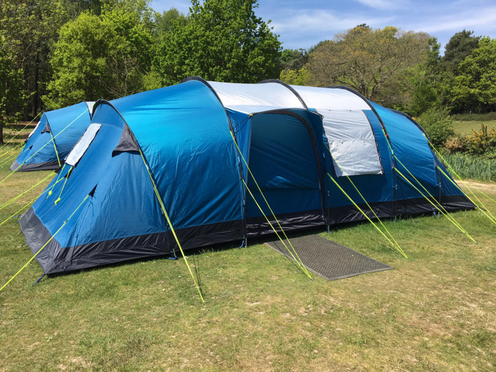 Modern Family Tents & Pre-erected Tents | Lepe Meadows